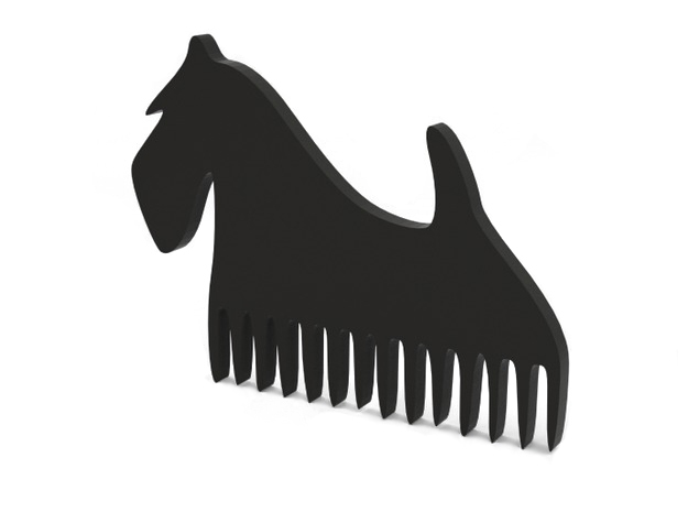 """Comb """"Terier"""" in Black Strong & Flexible"""