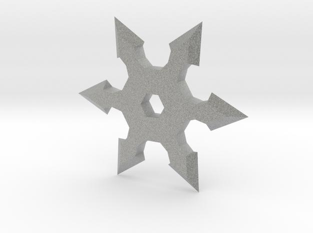 Shuriken Star 5cm in Metallic Plastic