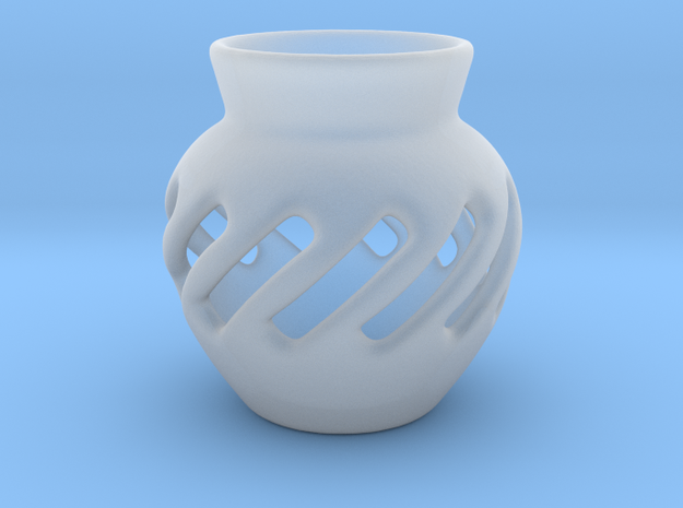 Vase Hollow Form 2016-0003 various scales in Smooth Fine Detail Plastic: 1:24