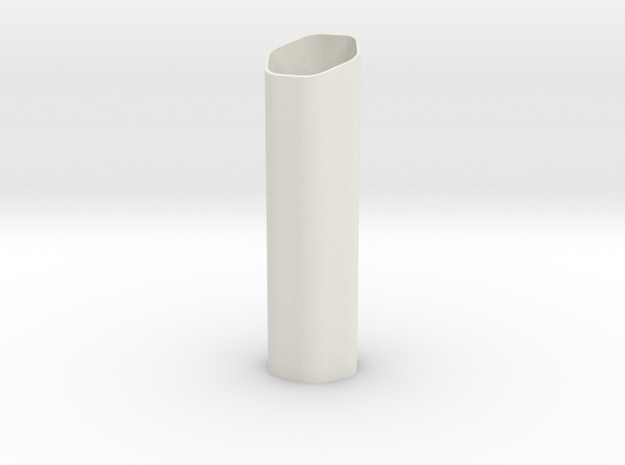 Small Vase for Pon Pushpin in White Natural Versatile Plastic