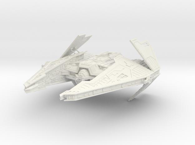 Sith Fury Interceptor (Wings Open) 1/270 3d printed