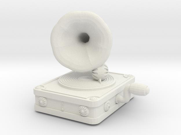 Gramaphone Half Inch Game Piece