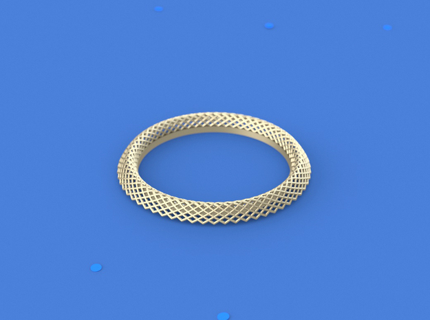 Mercure_I in 14k Gold Plated