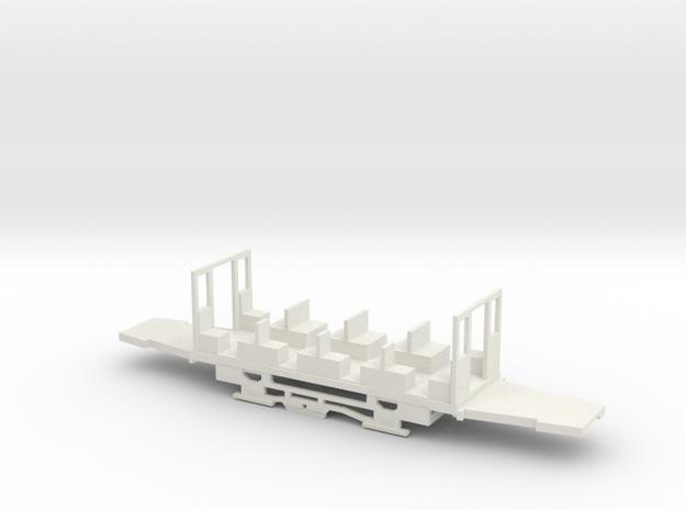 Fahrgestell Hamburg Z3B in White Natural Versatile Plastic