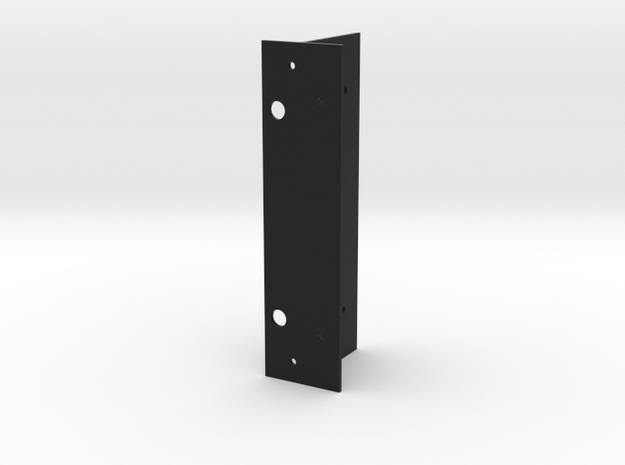 Matrice 100-guidance-attachment-3dprint-base-Boss- in Black Natural Versatile Plastic