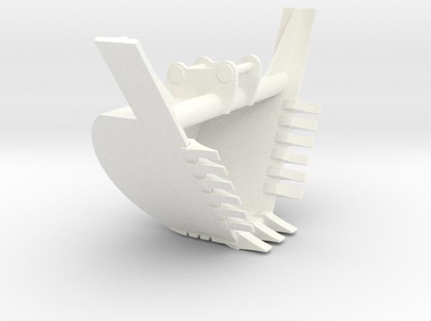 349 HD Trap in White Processed Versatile Plastic