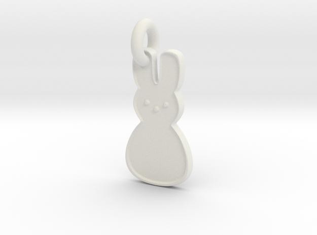 Peep Pendant in White Natural Versatile Plastic
