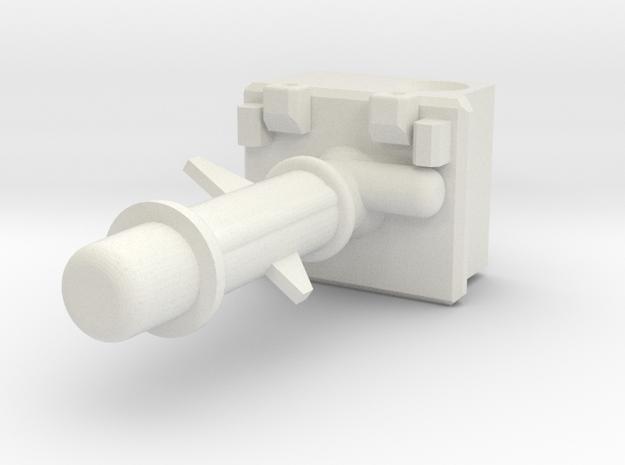 1:24 Mars Rover Chemcam in White Strong & Flexible