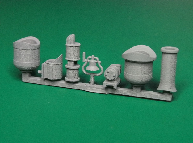 Detail parts for 2-8-0 loco conversion [set A] 3d printed