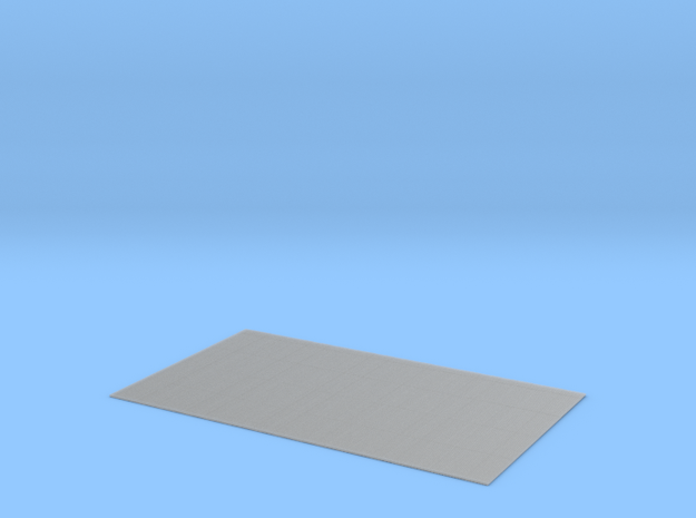 Corrugated Iron Sheeting 1/152 N Scale in Smooth Fine Detail Plastic