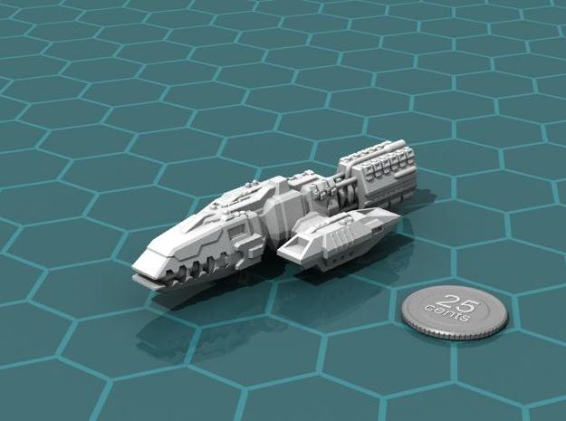 Colonial Battlewagon in White Strong & Flexible