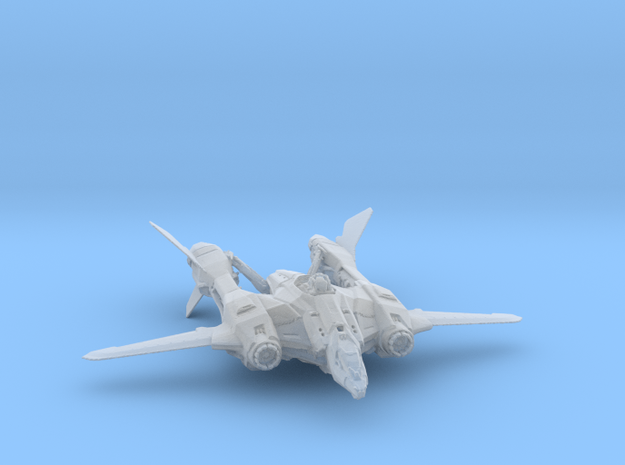 Aegis - Vanguard Deep Space Fighter in Frosted Ultra Detail