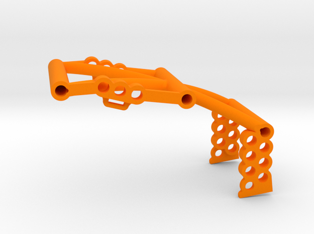 SuDu Mod 3D Front Brace in Orange Processed Versatile Plastic