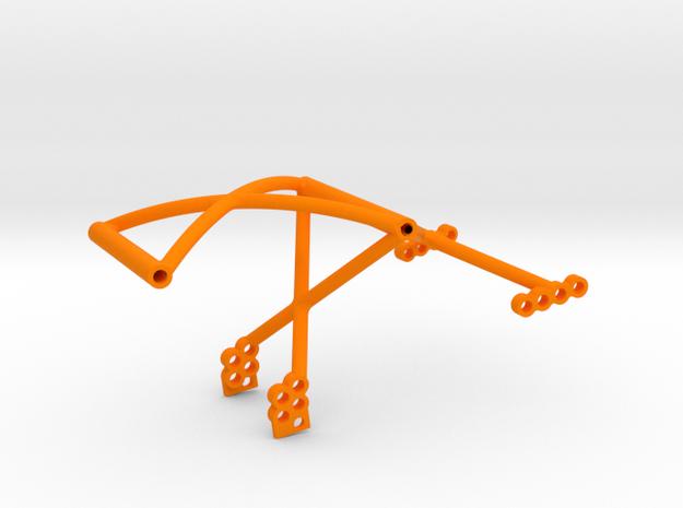 SuDu Mod 3D Rear Cage in Orange Processed Versatile Plastic