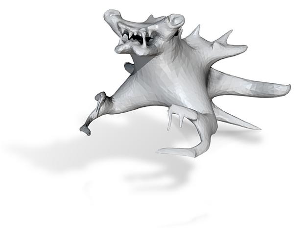 MonsterFish 3d printed
