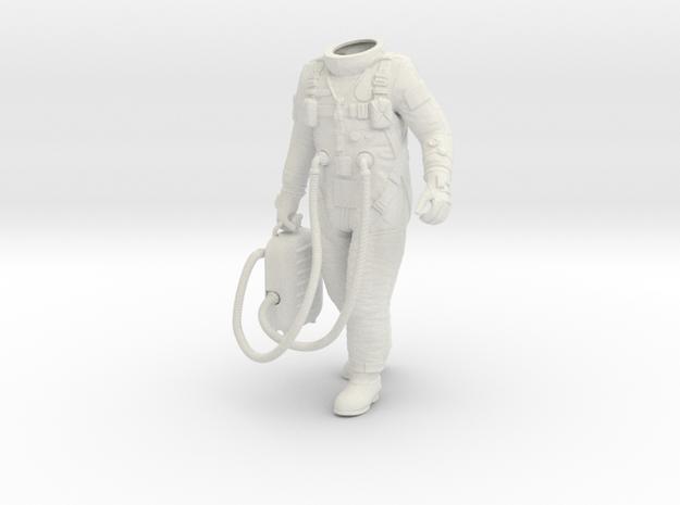 1:6 Gemini Astronaut / Protectiv Leggings in White Strong & Flexible
