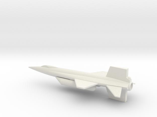 1/144 NAA X-15A2 in White Natural Versatile Plastic