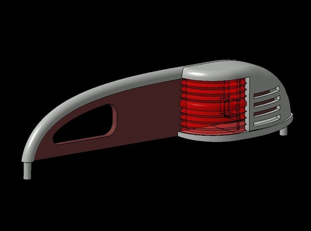 B15F Nav Lamp Set in Frosted Ultra Detail