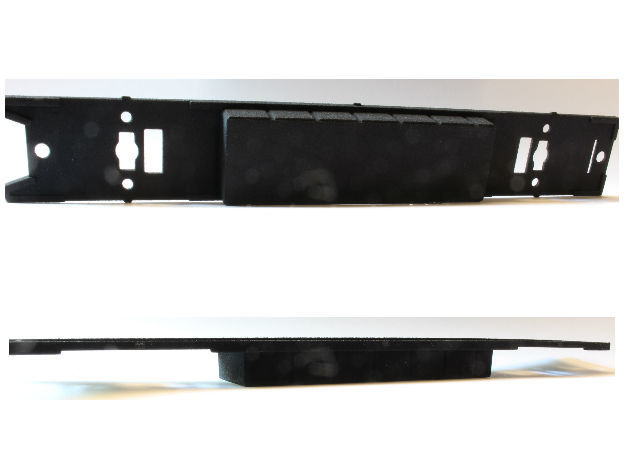 Brussels Metro M1 Chassis in Black Strong & Flexible