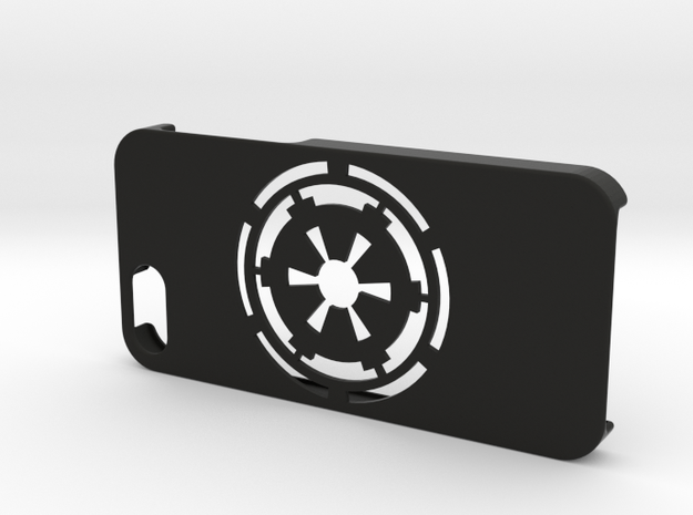 iPhone 5/SE Galactic Empire Case in Black Natural Versatile Plastic