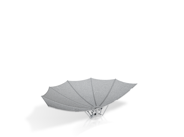 HGA-half dish in Frosted Ultra Detail
