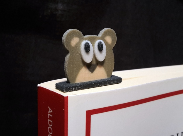 bookmark - S94 - angry#@!!! in Full Color Sandstone