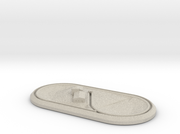 Complete oval layout 3d printed
