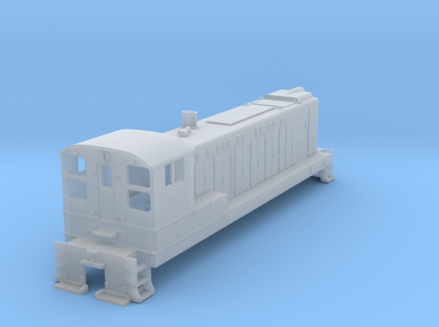 N-Scale Baldwin S-12 in Smooth Fine Detail Plastic