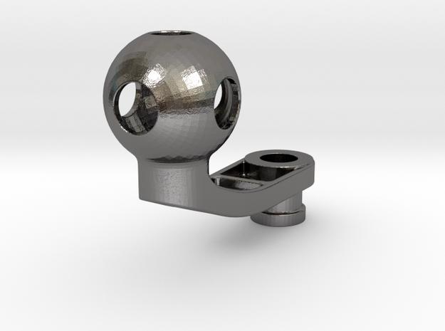 Stahlarm RAM Mount Kugel D = 25.3mm in Polished Nickel Steel