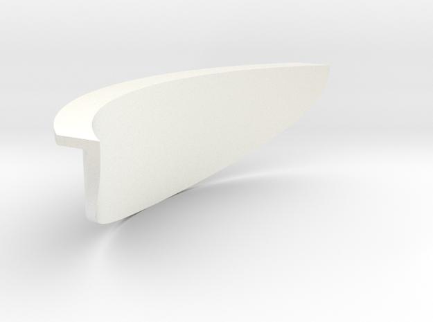 Unghia in White Processed Versatile Plastic
