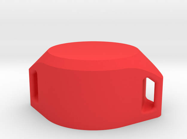 Winton PRK Cap in Red Strong & Flexible Polished