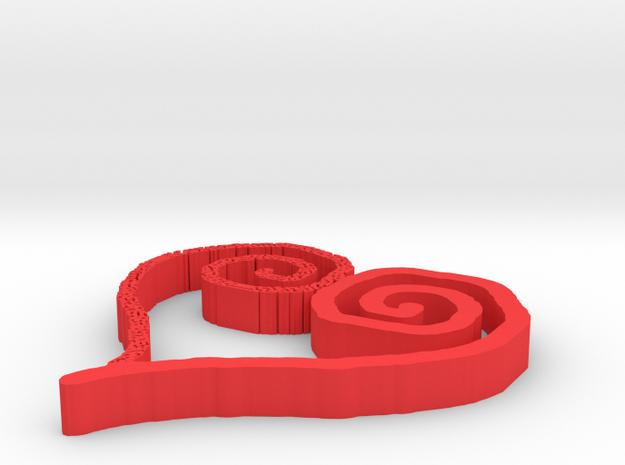 heart3 3d printed