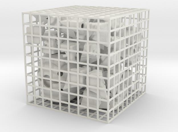 Penta Prism 2 in White Natural Versatile Plastic