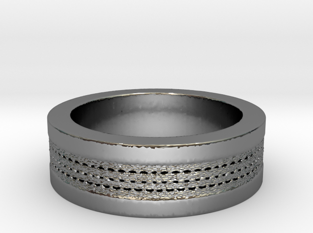 My Awesome Ring Design Ring Size 7 in Premium Silver