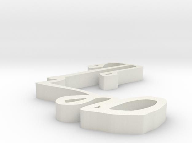 000210 : Signature of al-Quran verses numbers in White Natural Versatile Plastic