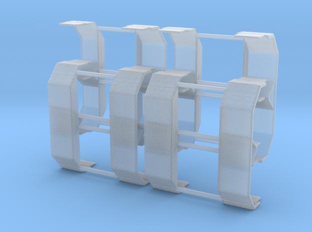 1/160 2achs Kotflügel in Smooth Fine Detail Plastic