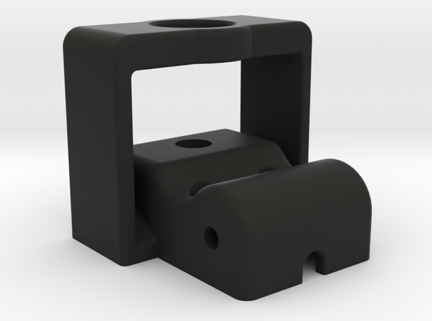 Magnetic Sim Racing Paddle Block in Black Natural Versatile Plastic