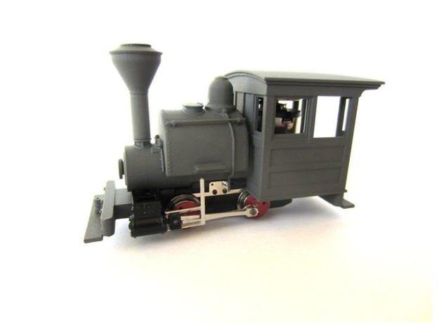 009 Porter - Tank in Smooth Fine Detail Plastic