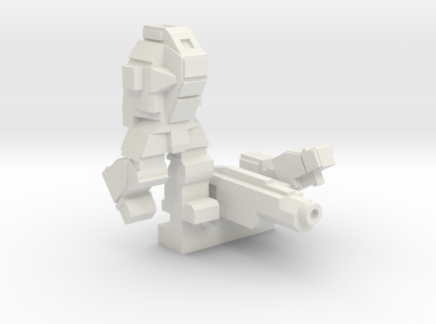Ares MkIII in White Natural Versatile Plastic