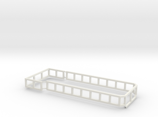 AS20 Silage racks in White Natural Versatile Plastic