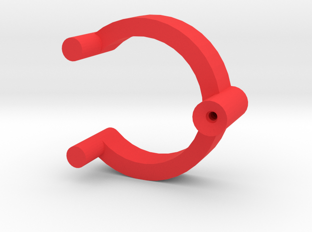 Collector Pins Magnet Adapter Single in Red Processed Versatile Plastic