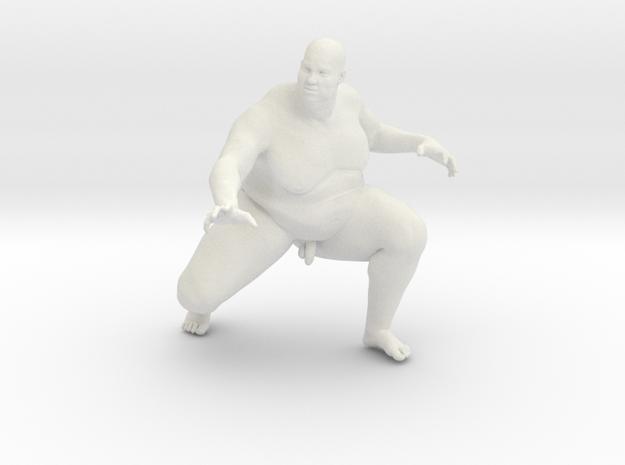 1/20 Fat Man 008 in White Natural Versatile Plastic