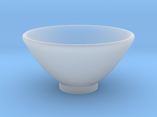 Bowl Hollow Form 2016-0006 various scales in Smooth Fine Detail Plastic: 1:24