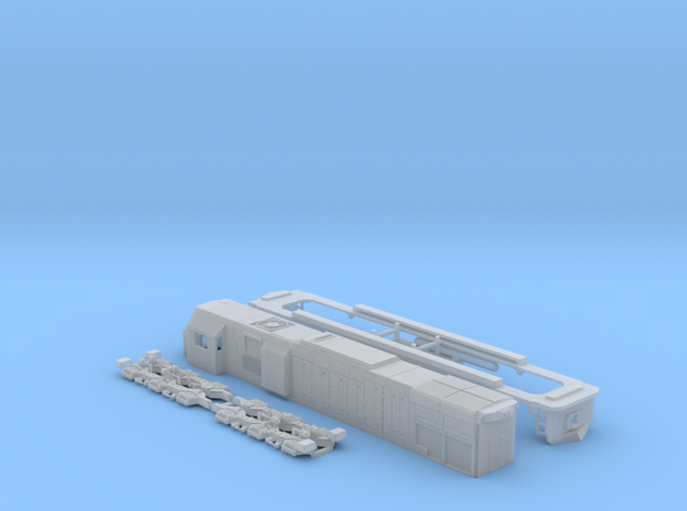 GT22cum-2 N scale in Smooth Fine Detail Plastic