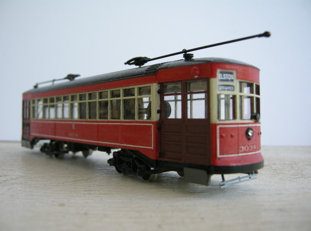 Chicago Car Odd 17 - HO Scale 1:87
