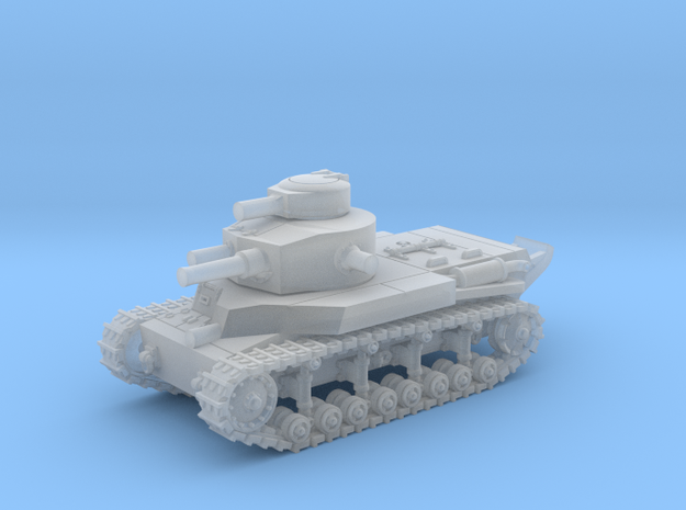 T24 Medium (1932) - 6mm in Smooth Fine Detail Plastic