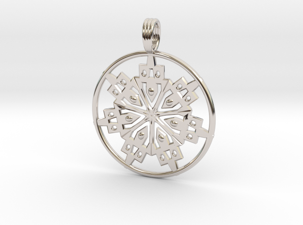 SOUL CREATION in Rhodium Plated