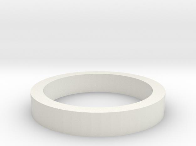 Arm retaining collar for Gondola in White Strong & Flexible