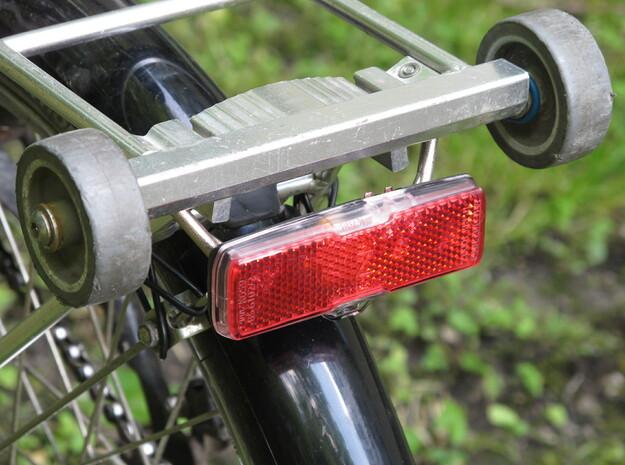 121221 Rear Light Bike Mount 3d printed Note the rivet above