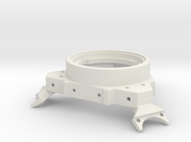 BI V2.5 Effector 25mm High for use with IR sensor in White Strong & Flexible